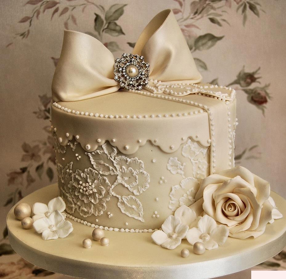 Cool Hochzeitstorte Bilder Dekoration Von 7